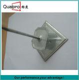 El contacto agujereado del aislante con la arandela y protege el casquillo PT5200