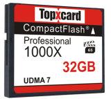 フラッシュ・メモリカード、デジタルカメラ(TX-6)のための32GB UDMA 7 1000X 150MB/Sの仕事SLCのCFのメモリ・カード32g Hyperspeed
