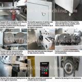 Machine à emballer automatique de palier de gâteau/pain/biscuit avec le mastic de colmatage d'extrémité de mouvement de cadre