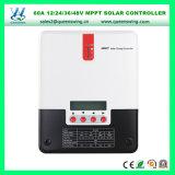 Ce Approuvé 12/24/36/48V Régulateur solaire Régulateur solaire MPPT 60A (QW-ML4860A)