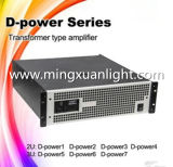 D-Power Series 350W-1500W Professional Power Amplifier