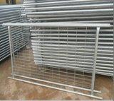 Clôture en acier galvanisée d'IMMERSION chaude