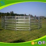 La vente en gros a galvanisé les panneaux en acier de stalle de cheval de corral de bétail de bétail