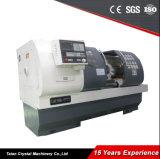 Machine Ck6150 van de Draaibank van het Bed van de Verordening CNC van de Snelheid van Stepless van drie Toestellen de Lange
