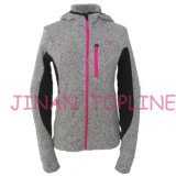 As mulheres Fashion Hoody Velo Micro colado desgaste de desporto