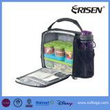 Il dispositivo di raffreddamento imbottito cotone della tela di canapa insacca il sacchetto del pranzo dei capretti