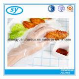 PE van het huishouden Wegwerpproduct die Goedkope Transparante Handschoenen schoonmaken