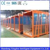 High Speed 145-180kg Elevador de construção de seção de mastro