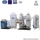 Generador del oxígeno del Psa de la pureza elevada con el tamiz molecular de la zeolita de la alta calidad