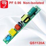 6-20W Hpf非絶縁LEDの管ライト電源QS1120A