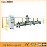 Aluminiumprofil CNC, der Mitte mit doppeltem Worktable aufbereitet
