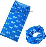 顧客用ロゴはポリエステルMicrofiberの昇進の多機能のスカーフのもみ革を印刷した