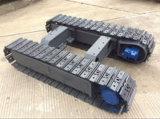 Las excavadoras personalizados Conjunto de chasis de doble sistema de trenes de aterrizaje