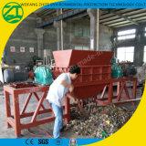スクラップの家具またはソファーまたは木製または堅いブロックまたは管のプラスチックまたは固形廃棄物のためのシュレッダーまたは二重シャフトが付いているタイヤ