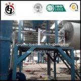 Matériel par interpréteur de commandes interactif de charbon actif de noix de coco d'usine de la Thaïlande