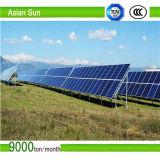 Uso Home sistema solar ondulado da montagem do telhado de telha de 5 quilowatts