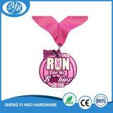 カスタム工場エナメルメダルリボンが付いているサーフの点メダル