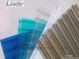 Heiße verkaufenpc Multiwall hohle Blatt Lexan Blatt-Strangpresßling-Zeile