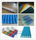 PVC 물결 모양 장 밀어남 선 - 기와