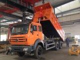 2018년 Beiben 또는 북쪽 벤츠 6X4 380HP 덤프 트럭