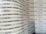 Carta velina calda stampata di vendita 17GSM
