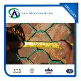 1X1X1m 2.7mm galvanisiertes dann überzogenes Gabion Ineinander greifen Belüftung-