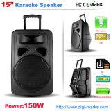 Karaoke를 위한 다채로운 LED 가벼운 액티브한 무선 스피커 상자