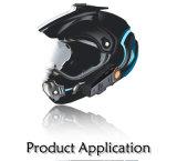 1000m BluetoothのマイクロフォンBt809が付いているステレオのヘッドセットのイヤホーンを防水しなさい