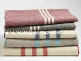 Manta pura de las lanas de Virgen del 100% nueva (NMQ-WB031)