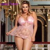 Розовый новейшей конструкции совращение горячая продажа новый стиль Sexy Nighty для женщин
