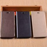 Couverture en gros de caisse de cuir de chiquenaude de type de livre de la Chine pour le cas de téléphone cellulaire de l'iPhone 7/7s/7PRO