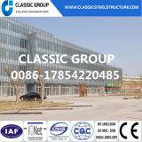 가벼운 금속 건물 프레임 창고 또는 조립식으로 만들어진 산업 강철 구조물 창고