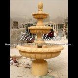 Fontaine de mur d'or de désert pour les meubles Mf-1017 de jardin