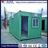 De gemakkelijke Geassembleerde Huizen van de Container van het Metaal van het Frame van het Staal