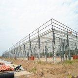 Hangar préfabriqué d'entrepôt de structure métallique
