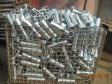 Tubo de la cuerda de rosca para el apoyo de acero
