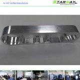 Aluminiumgeldstrafe CNC-maschinell bearbeitenteile durch die CNC maschinelle Bearbeitung