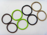 Textura de alta e laços com cabelos elásticas isenta de metais