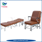 Plegables médicos del uso de acero del hospital acompañan la silla