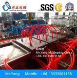 Máquina de WPC para producir el panel de pared plástico de madera del PVC, máquina hueco de la protuberancia del panel del PVC de WPC