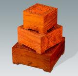Коробки драгоценных ювелирных изделий диаманта Rosewood упаковывая