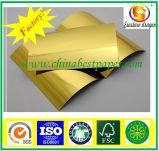 Papp-/-kuchenvorstandfolienpapier der hohen Steifheit Gold/Goldpappe