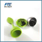 Nahrungsmittelgrad-Masse-Tee Infusers grüner Silikon-Tee 100% Infuser