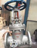 Klep van de Poort Wcb van het Wiel van de Hand van het staal API600 de Van een flens voorzien