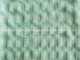 75D Lurex che ferma il tessuto con una graffetta chiffon del vestito delle donne del tessuto