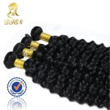 6A Virgin Remy Hair Weave Curly Wavy 브라질 Hair 100 Gram Per Boundle
