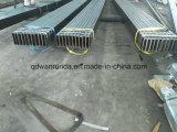Uso oco de aço retangular da seção na indústria da maquinaria