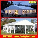 Tenda di evento della tenda foranea della festa nuziale della parete di vetro con il Pagoda