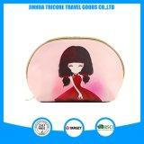 Sac cosmétique de course promotionnelle de la mode 2017 avec l'impression, fournisseur cosmétique de la Chine de sac d'unité centrale