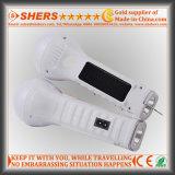 Solar-LED-Licht mit 1W Taschenlampe, Leselampe, USB (SH-1932)